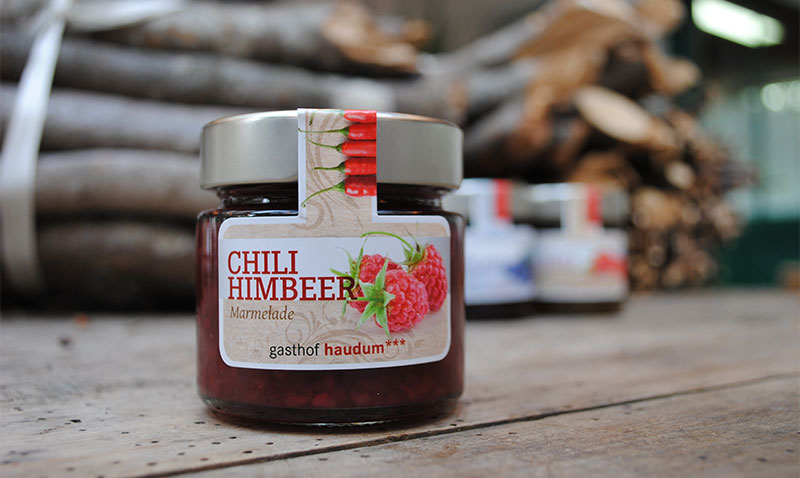 Chili-Himbeer Marmelade